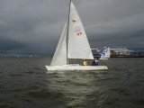 Steve actually sails!!!! Wabbit Weunion
